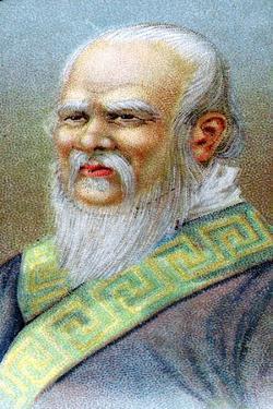 Confucius (551-479 B), Chinese Philosopher, C1920
