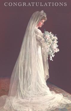 Congratulations, Bride in Gown