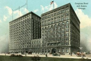 Congress Hotel and Annex, Chicago