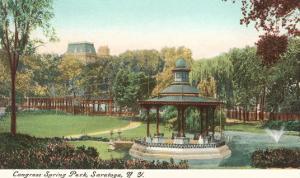 Congress Spring Park, Saratoga, New York