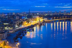 Night Panorama of Kiev by connect1