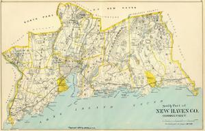 Connecticut: New Haven County South, c.1893