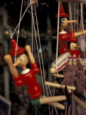Marionette, Pinocchio Puppet, Taormina, Sicily, Italy by Connie Ricca