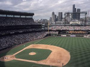 Safeco Field, Home of the Seattle Mariners Baseball Team, Seattle, Washington, USA by Connie Ricca