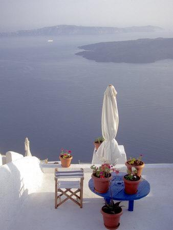 View of Water, Santorini, Greece