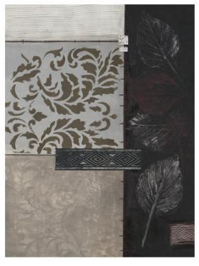 Silver Damask II by Connie Tunick