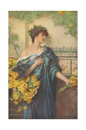 'Marguerites', c1900, (1918)