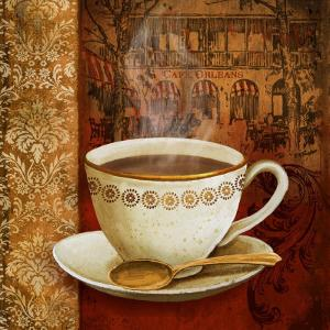 Cafe du Boulevard I by Conrad Knutsen