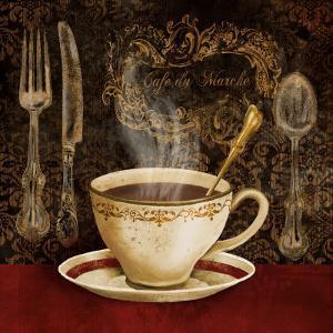 Café du Marche by Conrad Knutsen