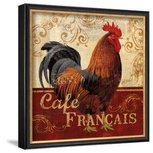 Cafe Francais by Conrad Knutsen