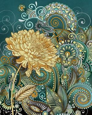 Inspired Blooms I by Conrad Knutsen