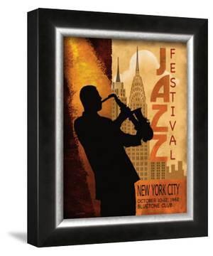 Jazz in New York, 1962 by Conrad Knutsen