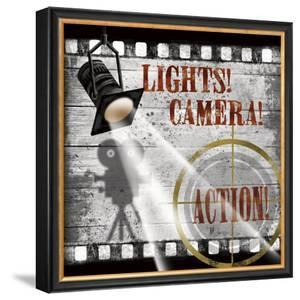 Lights! Camera! Action! by Conrad Knutsen