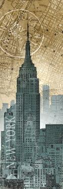 New York Map by Conrad Knutsen