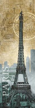 Paris Map by Conrad Knutsen