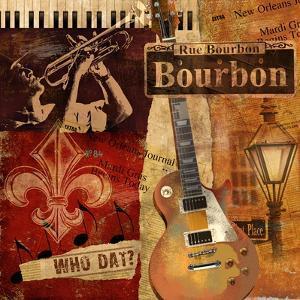 Rue Bourbon by Conrad Knutsen