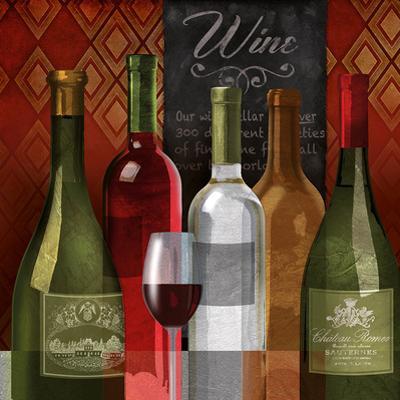 The Wine List I by Conrad Knutsen