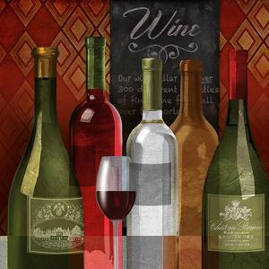 The Wine List I by Conrad Knutsen