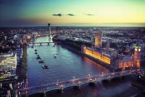 Beautiful View of a City by conrado