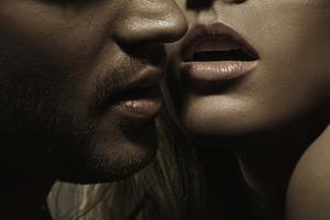 Close up Portrait of a Loving Couple by conrado