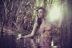 Sexy Woman in Water by conrado