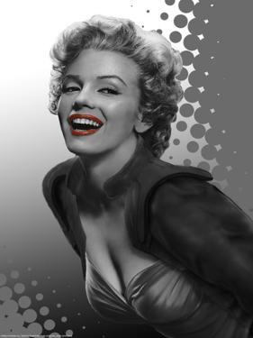 Marilyn Red Dots by Consani Chris