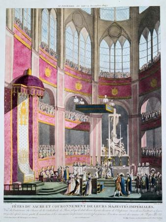 Consecration of Napoleon and Coronation of Josephine by Pope Pius VII, 2nd December 1804