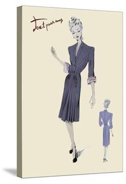 Conservative Suit Dress, 1947
