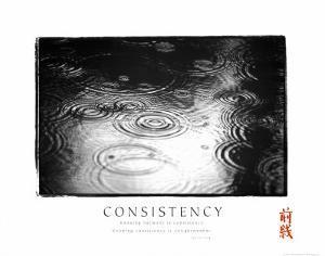 Consistency: Raindrops