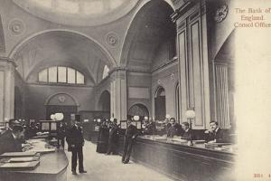Consol Office, Bank of England, London