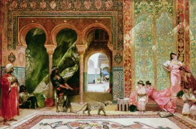 A Royal Palace in Morocco by Constant
