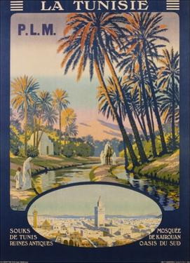 La Tunisie Poster by Constant Duval