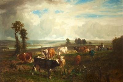 Landscape, Les Hauteurs De Suresnes, 1856