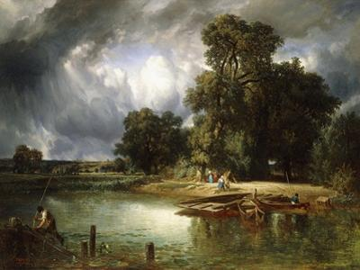 The Ferry Crossing, 1849