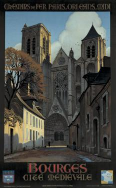 Bourges by Constant Leon Duval