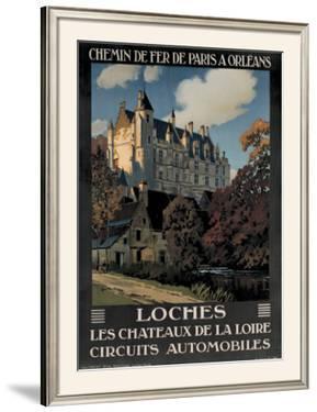 Chateau de Loches by Constant Leon Duval