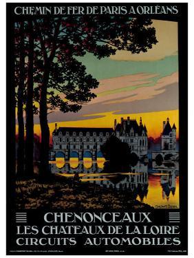 Chenonceaux by Constant Leon Duval