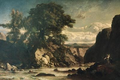Landscape Showing Tobias and Angel
