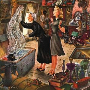 """Attic Treasure,"" June 7, 1947 by Constantin Alajalov"