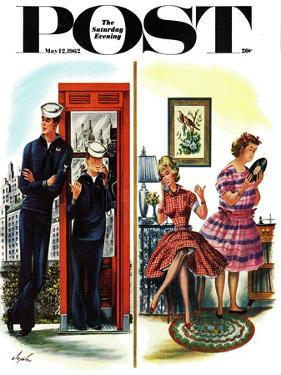 """""""She Has a Great Personality,"""" Saturday Evening Post Cover, May 12, 1962 by Constantin Alajalov"""