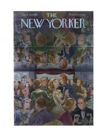 The New Yorker Cover - April 30, 1949 by Constantin Alajalov