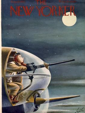 The New Yorker Cover - August 22, 1942 by Constantin Alajalov