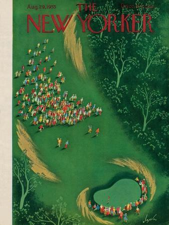 The New Yorker Cover - August 29, 1953