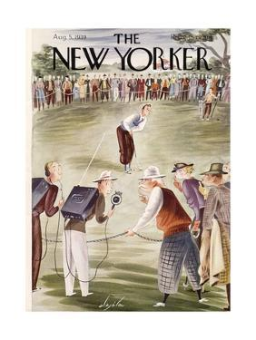 The New Yorker Cover - August 5, 1939 by Constantin Alajalov