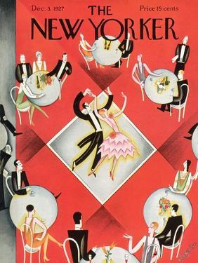 The New Yorker Cover - December 3, 1927 by Constantin Alajalov