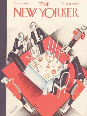 The New Yorker Cover - December 4, 1926 by Constantin Alajalov