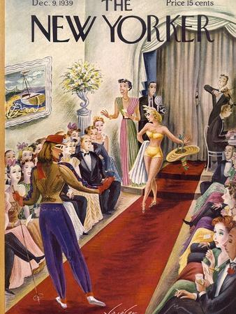 The New Yorker Cover - December 9, 1939