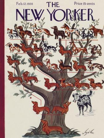 The New Yorker Cover - February 12, 1938