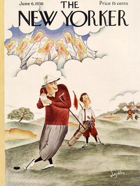 The New Yorker Cover - June 6, 1936 by Constantin Alajalov