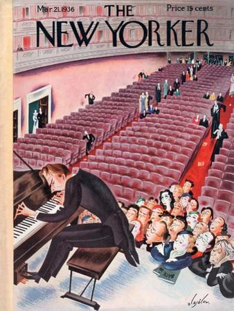 The New Yorker Cover - March 21, 1936 by Constantin Alajalov